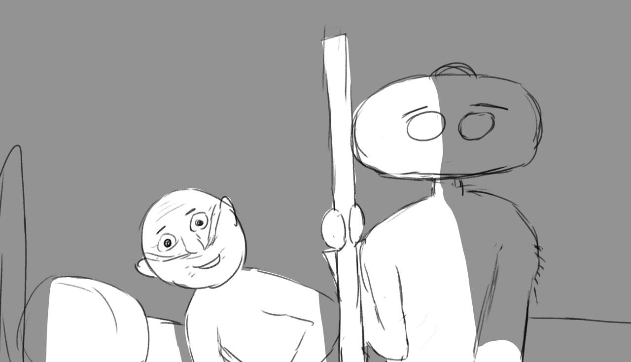 Animatic of the Short Film