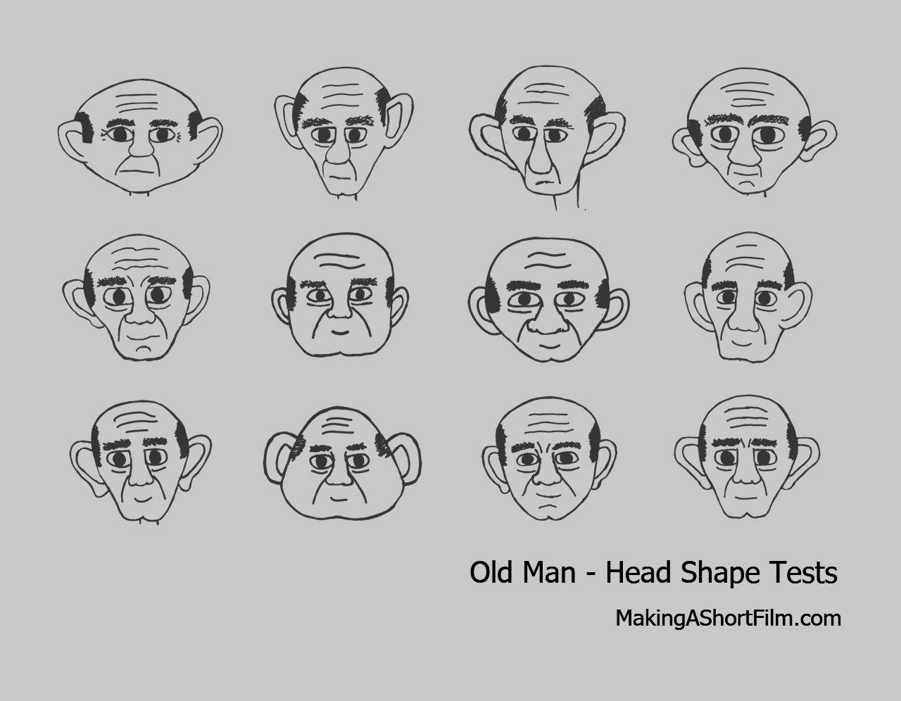 The Old Man's General Shape