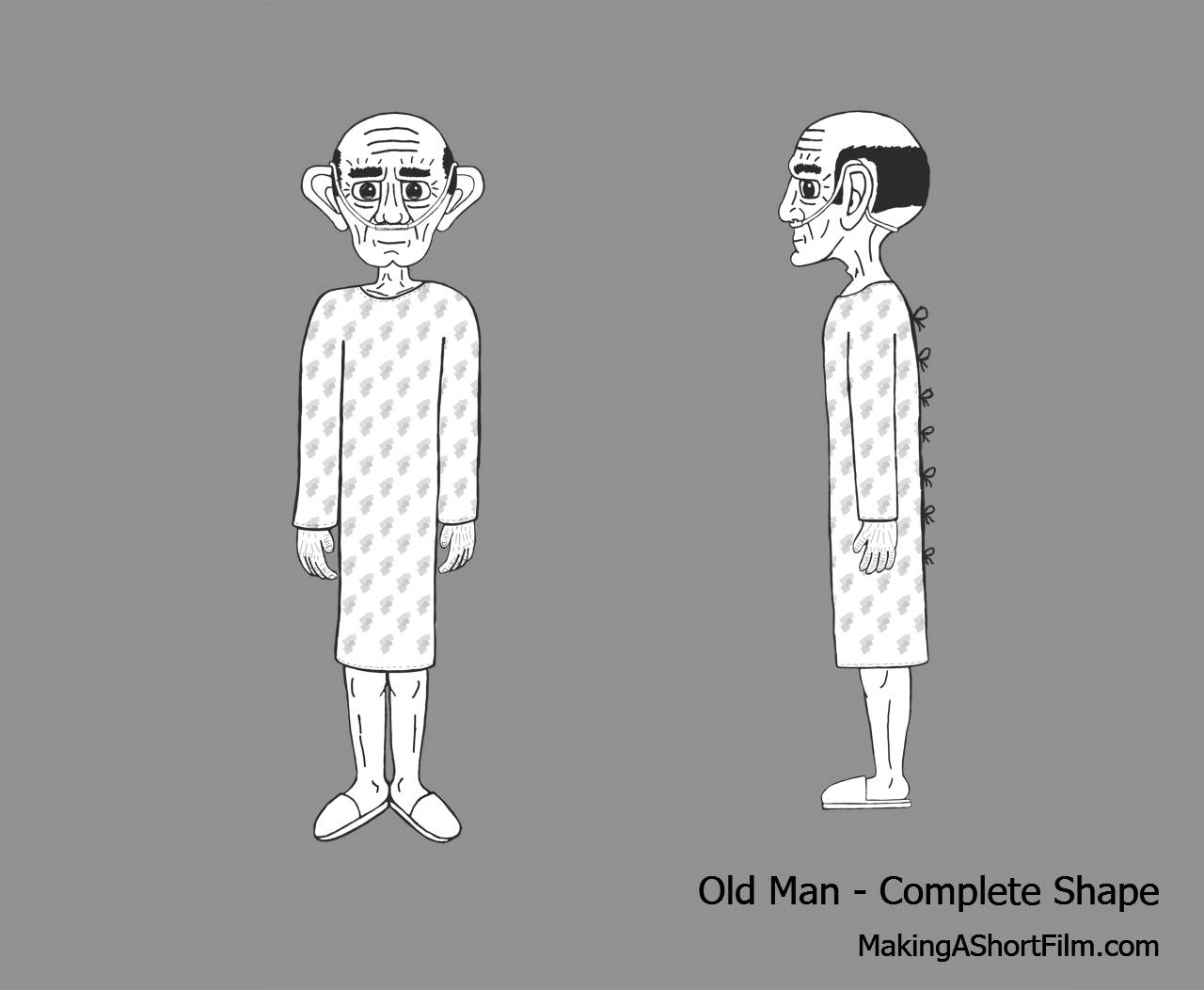 The Complete Shape of the Old Man