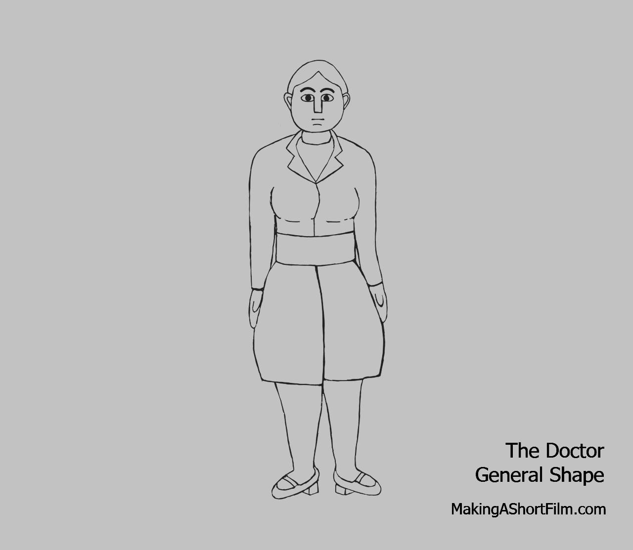 The general shape of the Doctor