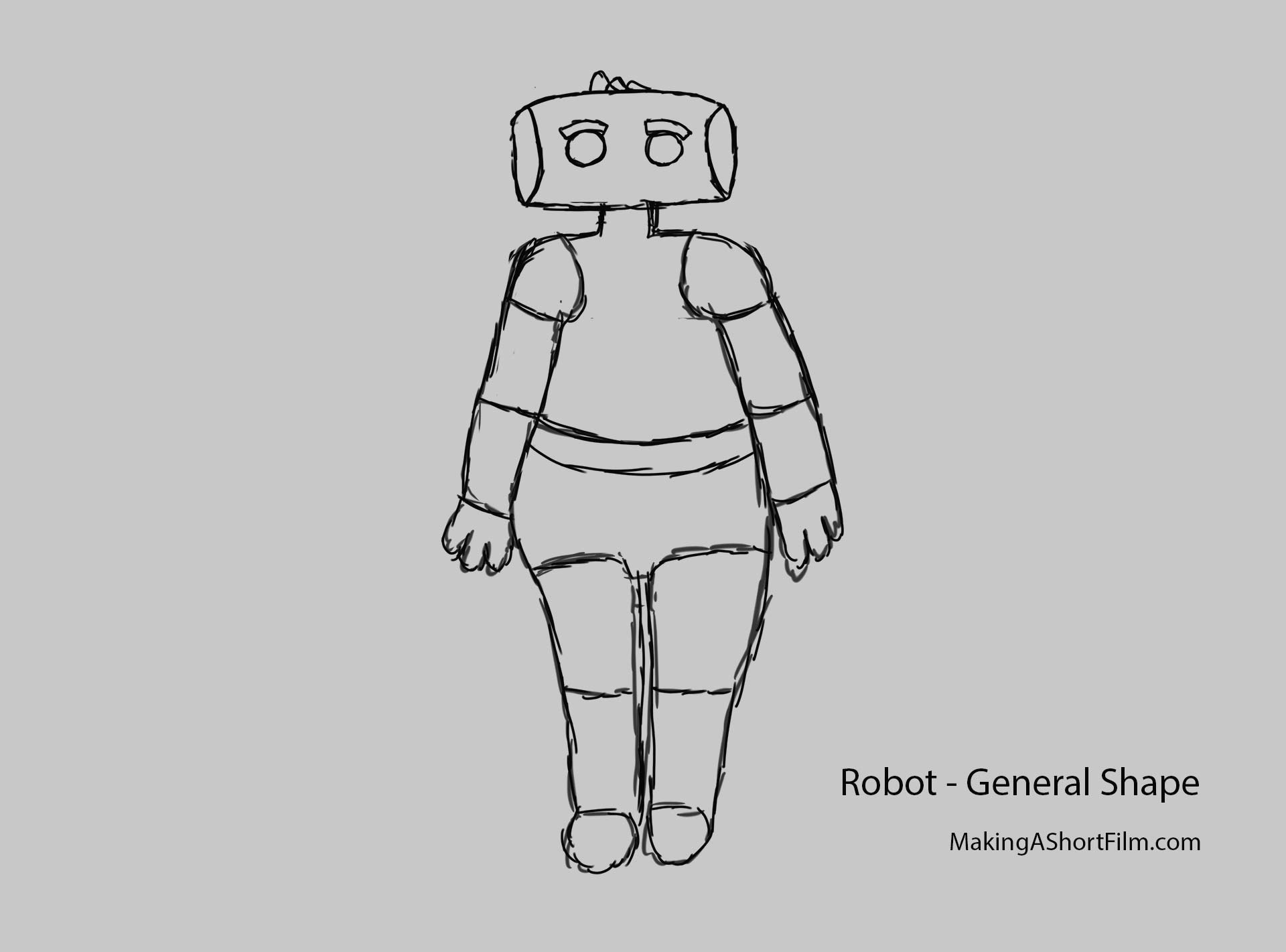 The General Body Shape of the Robot